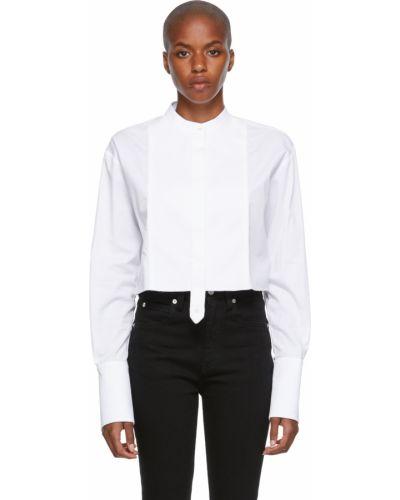 Белая хлопковая рубашка Victoria, Victoria Beckham