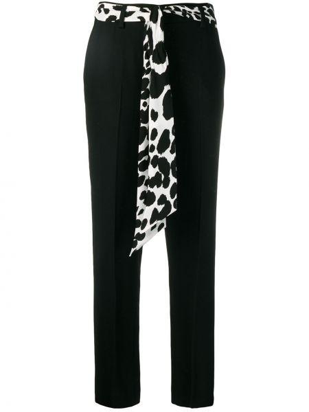 Черные брюки с поясом Cavalli Class