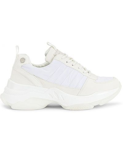 Кроссовки на каблуке - белые Kendall + Kylie