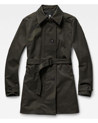 Утепленная куртка прямая с поясом G-star Raw