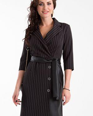 Платье с поясом с запахом платье-комбинация Taiga