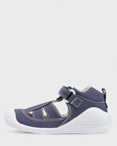 Кожаные сандалии - серые Biomecanics