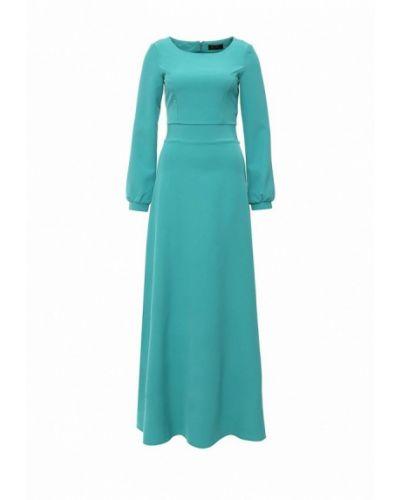 Платье бирюзовый осеннее Luann
