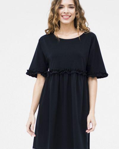 Черное повседневное платье Mascot
