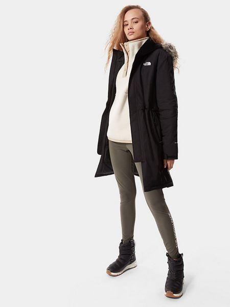 Черная куртка The North Face