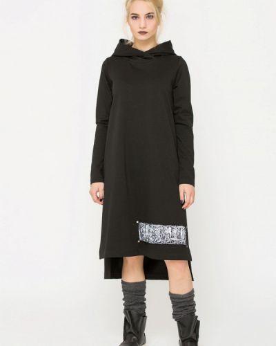 Платье осеннее черное Lada Kalinina