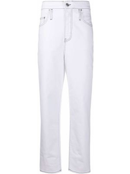 Прямые джинсы mom с заплатками Department 5