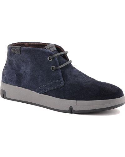 Кожаные ботинки осенние Stonefly