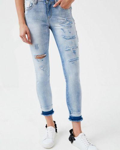 Голубые джинсы Pinko