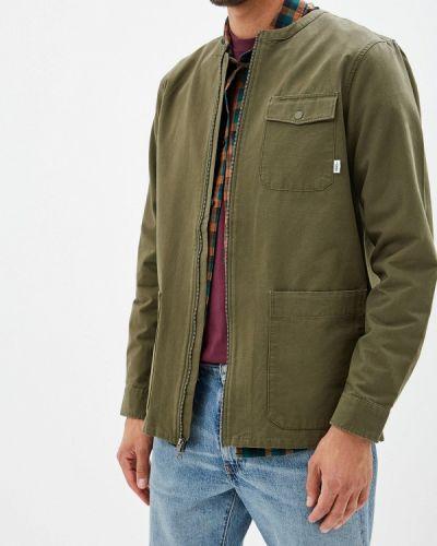 Куртка осенняя зеленая Vans