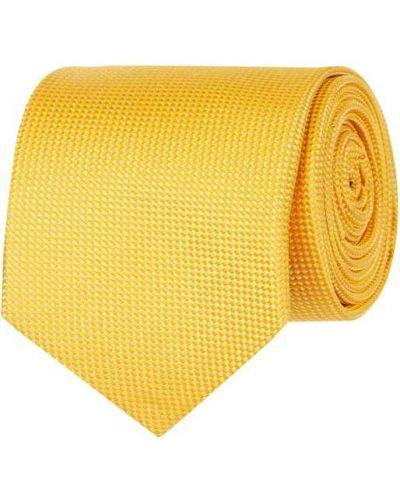 Klasyczny krawat - żółty Blick