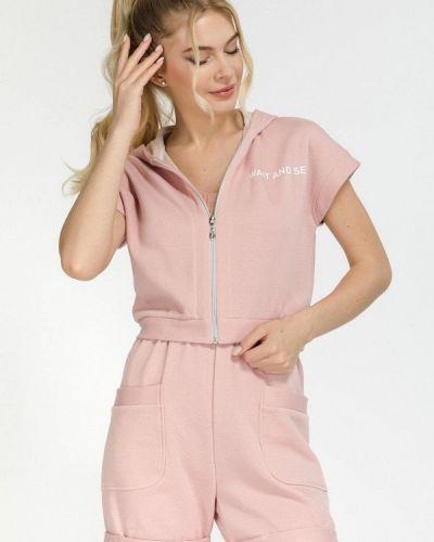 Розовый спортивный спортивный костюм Clever Woman Studio