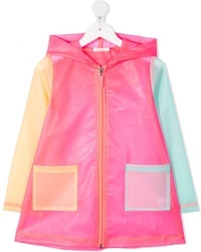 Klasyczna różowa kurtka z kapturem Billieblush