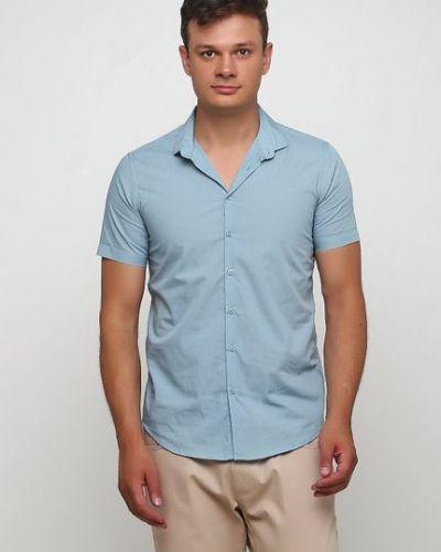 Рубашка - голубая Piazza Italia