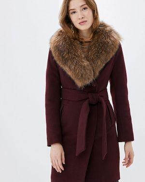 Зимнее пальто бордовый пальто Karolina