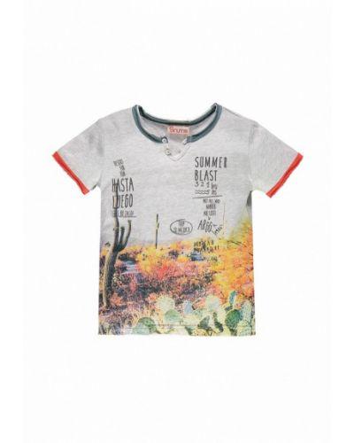 Серая футболка Brums