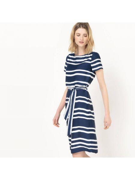 Платье миди мини в полоску La Redoute Collections