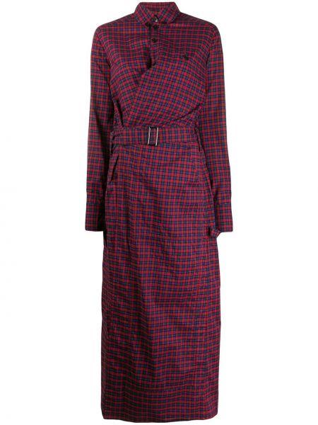 Платье макси длинное - красное A.f.vandevorst