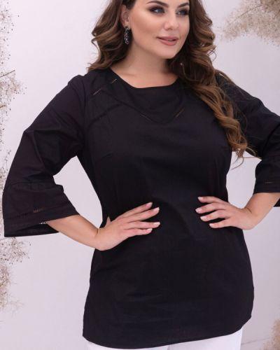 Блузка с вышивкой - черная Petro Soroka