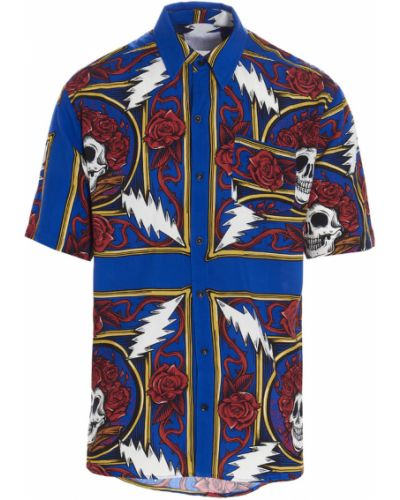 Niebieska koszula Chinatown Market