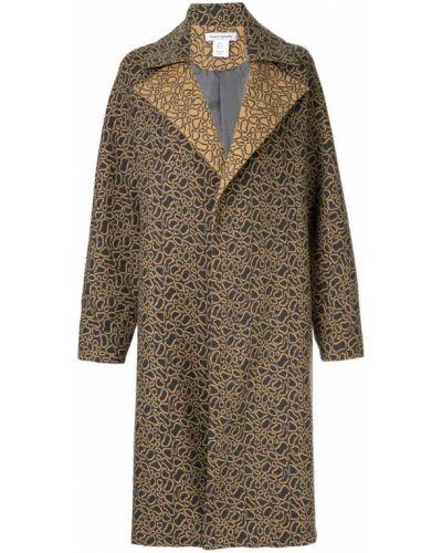 Длинное пальто с капюшоном на пуговицах Bianca Spender