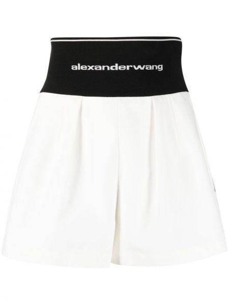 Białe szorty bawełniane Alexander Wang