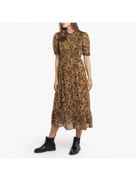 Платье мини миди в стиле бохо La Redoute