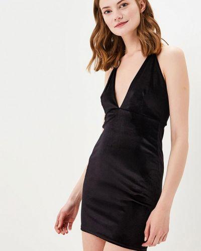 Коктейльное платье черное Edge Street