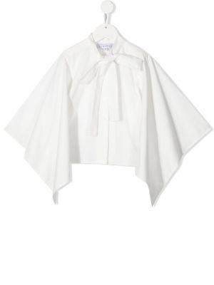 Хлопковая белая блузка с завязками Señorita Lemoniez