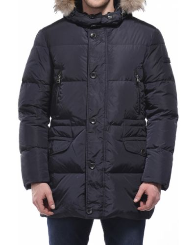 Черная куртка осенняя Peuterey
