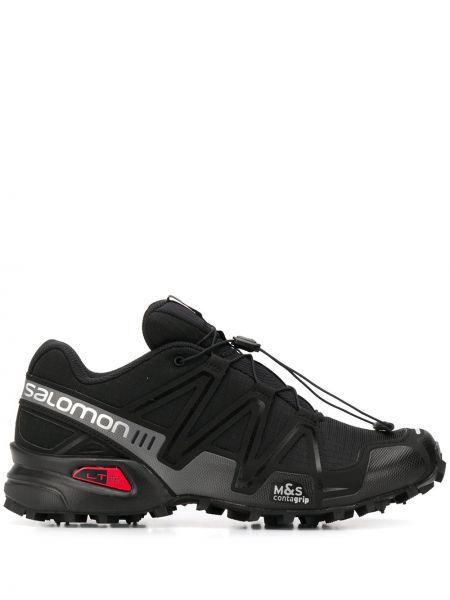 Кроссовки на каблуке - черные Salomon S/lab