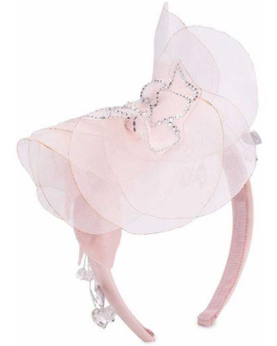 Różowy fascynator Monnalisa