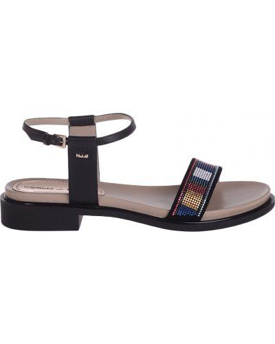 Черные босоножки на каблуке Norma J.baker