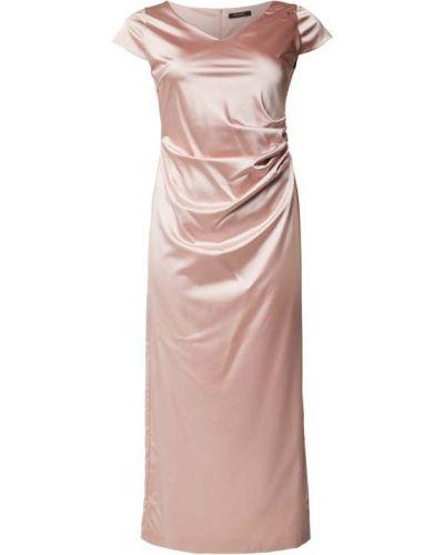 Sukienka wieczorowa - różowa Swing