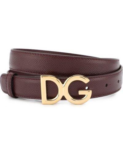 Ремень кожаный Dolce & Gabbana