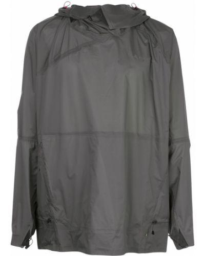 Куртка с капюшоном свободного кроя Klättermusen
