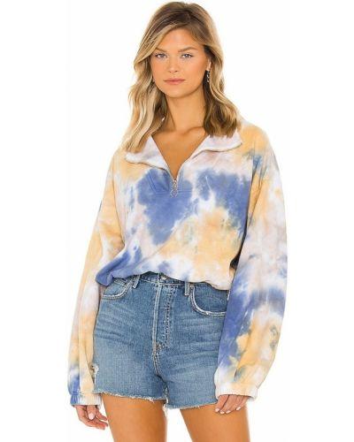 Sweter wełniany - niebieski Lpa
