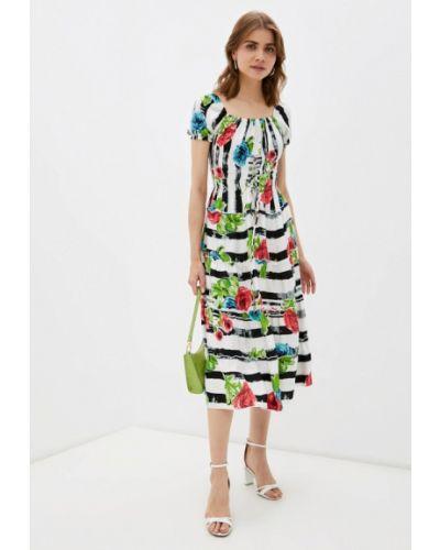 Разноцветное платье мадам т