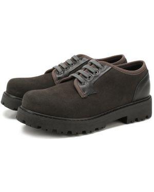 Туфли замшевый мягкий Lanvin