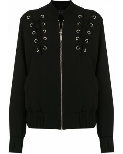 Черная куртка с манжетами Olympiah