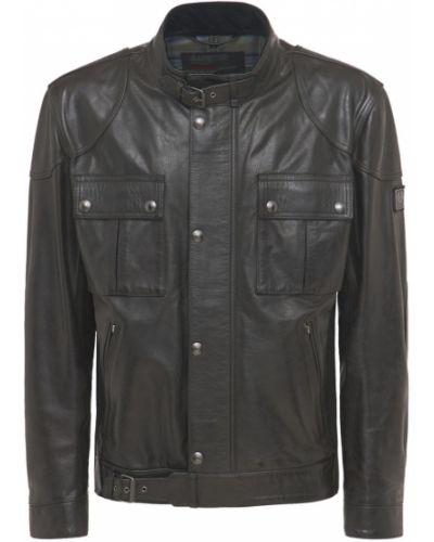 Черная куртка с манжетами Belstaff