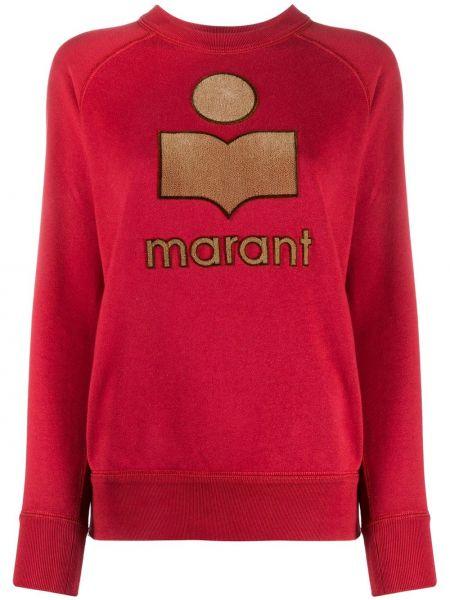 Bawełna bawełna z rękawami bluza Isabel Marant Etoile