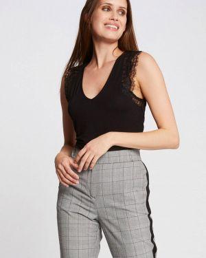 Блузка без рукавов черная Morgan