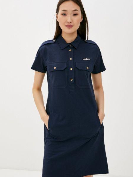 Платье - синее Aeronautica Militare