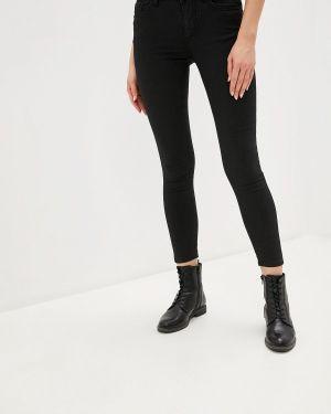 Черные джинсы-скинни с пайетками Love My Body