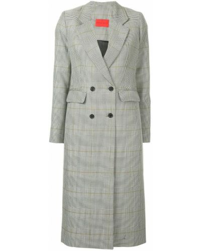 Пальто с капюшоном на пуговицах Strateas Carlucci