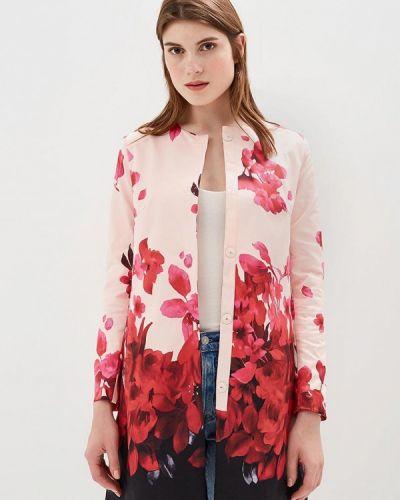 Розовое пальто весеннее Incity