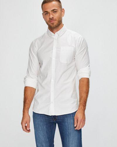 Рубашка с длинным рукавом однотонная хлопковая Casual Friday