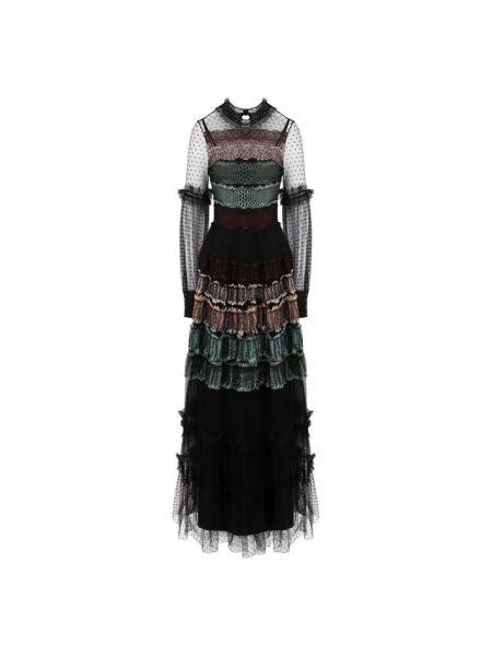 Платье мини макси каскадное Wandering