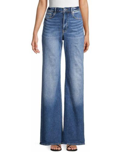 Синие широкие джинсы с карманами свободного кроя True Religion